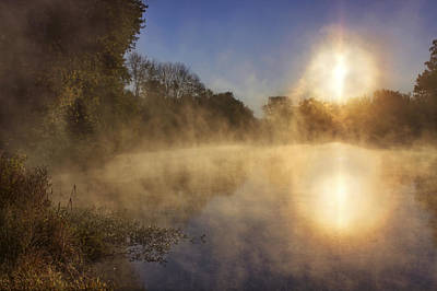 Photograph - Steam On The Water by Jason Politte