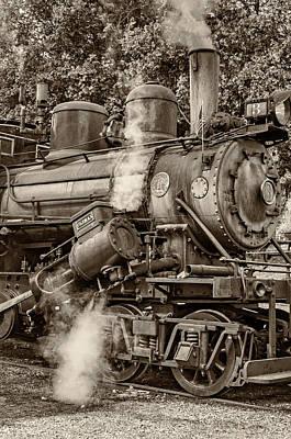 Steve Harrington Photograph - Steam Power Sepia by Steve Harrington