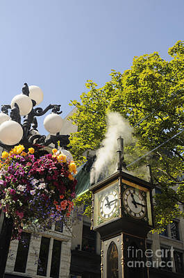Photograph - Steam Powered Clock by Brenda Kean