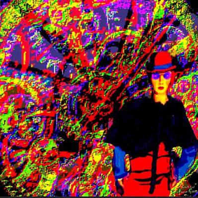 Designer Clothes Painting - Steam Punk Dreams 1 by Larry E Lamb