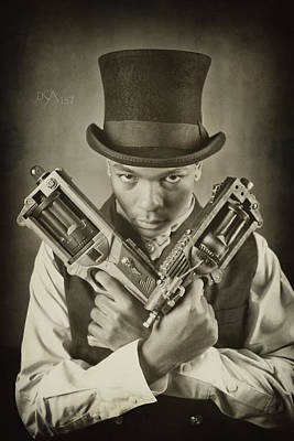 Steampunk Photograph - Steam Punkz I by David April