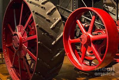 Photograph - Steam Traction Engine by Jim West