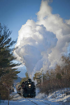 Photograph - Steam Train by Alana Ranney