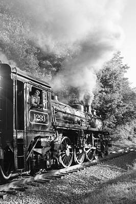 Photograph - Steam Train by Ann Bridges