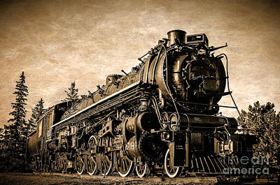 Photograph - Steam Train by Bianca Nadeau