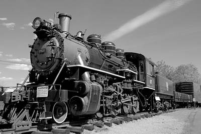 Photograph - Steam Train In Essex Ct by Caroline Stella
