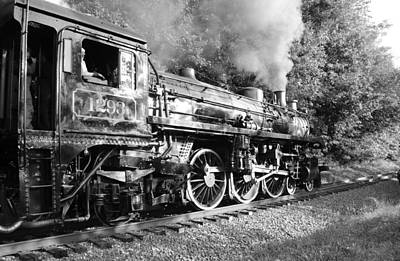 Photograph - Steam Train Iv by Ann Bridges