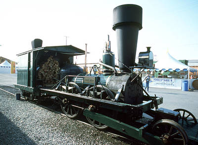 Photograph - Steam Train John Bull by Robert  Rodvik