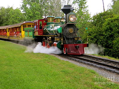 Photograph - Steam Train by Joy Hardee