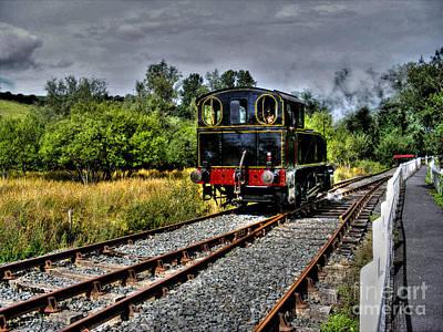 Photograph - Steam Train by Nina Ficur Feenan
