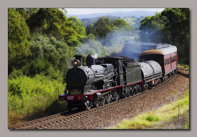 Photograph - Steam Train Taree 2012 by Kevin Chippindall