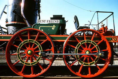 Photograph - Steam Trains - Best Friend by Robert  Rodvik