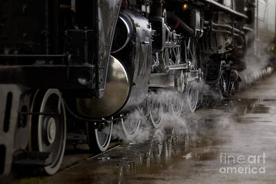 Photograph - Steam Wheels by Dennis Hedberg