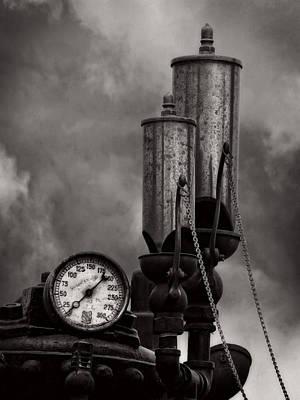 Steam Whistle V4 Art Print by F Leblanc