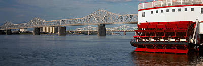 Steamboat Photograph - Steamboat Belle Of Louisville In Ohio by Panoramic Images