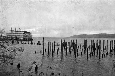 Photograph - Steamboat In Astoria by Bonnie Bruno
