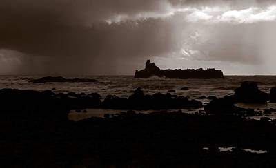 Photograph - Steamboat Rock On California's Lost Coast by Daniel Woodrum
