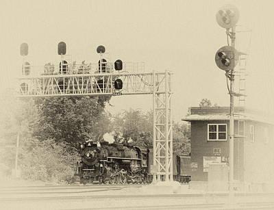 Berea Wall Art - Photograph - Steamer Passing Through by Robert Schleimer