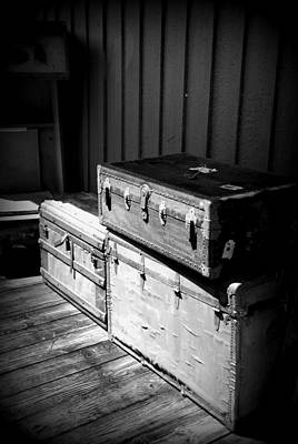 Photograph - Steamer Trunks by Beverly Stapleton