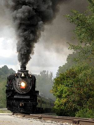 Photograph - Steamin' In The Valley by Carolyn Jacob