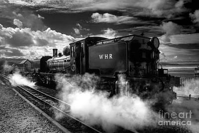 Steaming Clouds  Art Print by Rob Hawkins