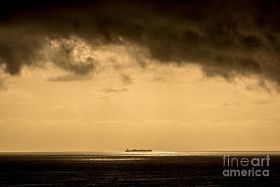 Steaming Thru The Sunrise Print by Rene Triay Photography