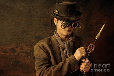 Goggles Photograph - Steampunk 1 by Evan Butterfield
