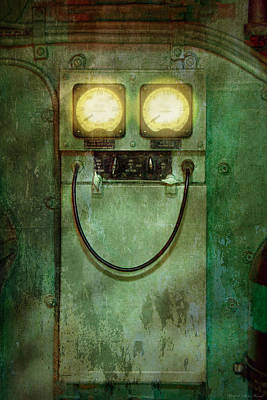 Electrician Photograph - Steampunk - Be Happy by Mike Savad
