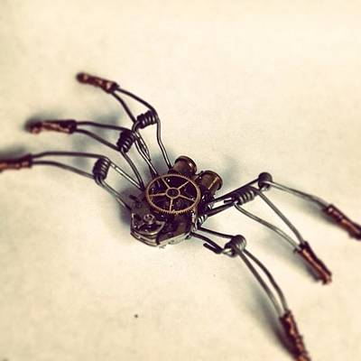 Steampunk Photograph - #steampunk #bugs More To Come by Dana Forte