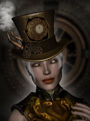 Steampunk Royalty-Free and Rights-Managed Images - Steampunk Eyes by Suzanne Amberson
