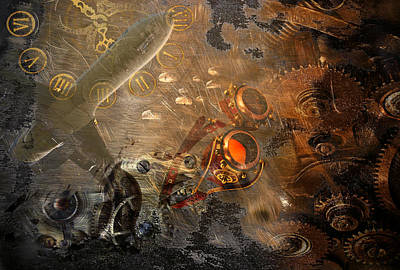 Photograph - Steampunk Fantasy 2 by Davina Washington
