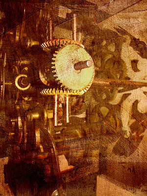 Photograph - Steampunk Gears by Ann Powell