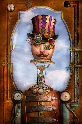 Steampunk - Integrated Art Print by Mike Savad