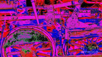Steampunk Iron Horse #4 Art Print by Peter Gumaer Ogden