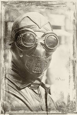 Steampunk Wall Art - Photograph - Steampunk Ninja by David April