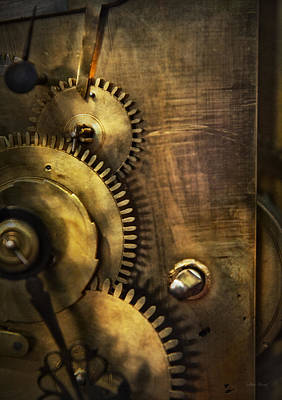 Photograph - Steampunk - Toothy  by Mike Savad