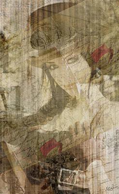 Digital Art - Steampunk Woman by Absinthe Art By Michelle LeAnn Scott