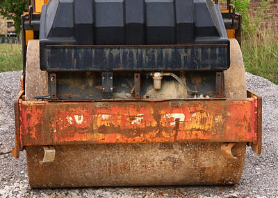 Photograph - Steamroller by Melinda Fawver