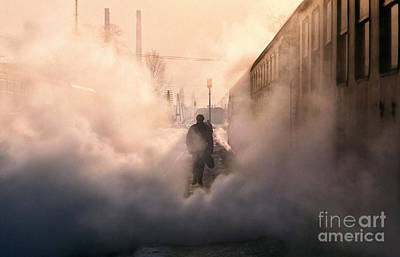 Eastern Europe Photograph - Steamy Station by Rod McLean