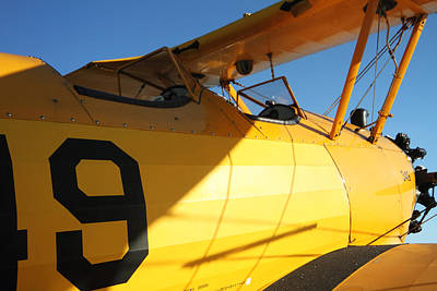 Photograph - Stearman Boeing Model 75 by Maxwell Amaro