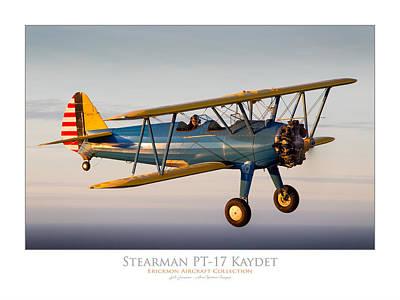 Photograph - Stearman Pt-17 Kaydet by Lyle Jansma