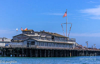Photograph - Stearns Wharf by DJ Laughlin