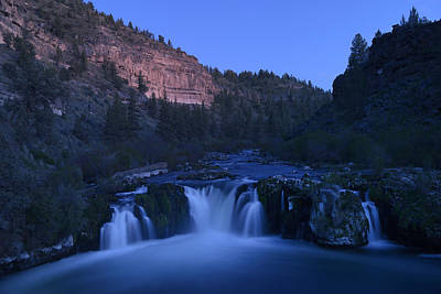 Deschutes River Photograph - Steehead Falls by Christian Heeb