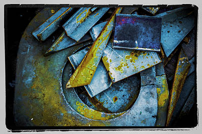 Art Print featuring the photograph Steel Abstract Six by Craig Perry-Ollila