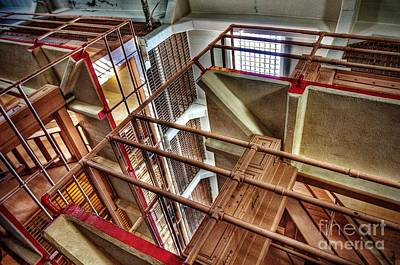 Alcatraz Photograph - Steel And Concrete by Andrew Brooks