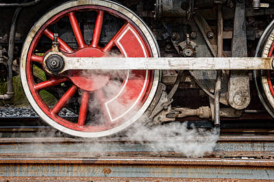 Photograph - Steel And Steam 2 by Christopher Holmes