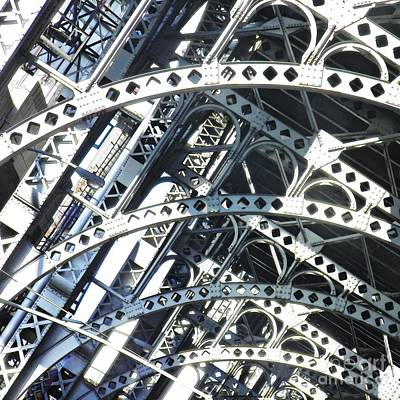 Steel Arches Art Print
