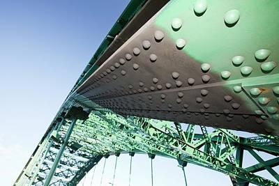 Rivets Photograph - Steel Bridge  by Ashley Cooper