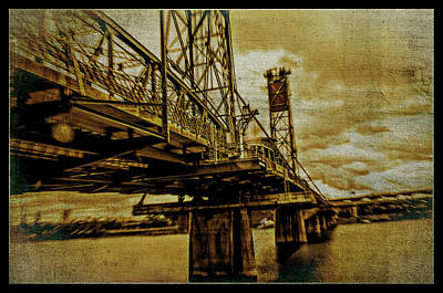 Photograph - Steel Bridge Of Portland by Craig Perry-Ollila