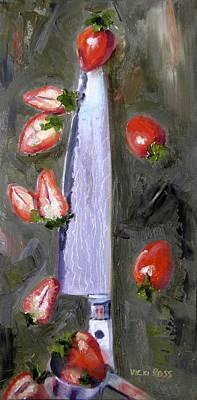 Steel Cut Berries Art Print